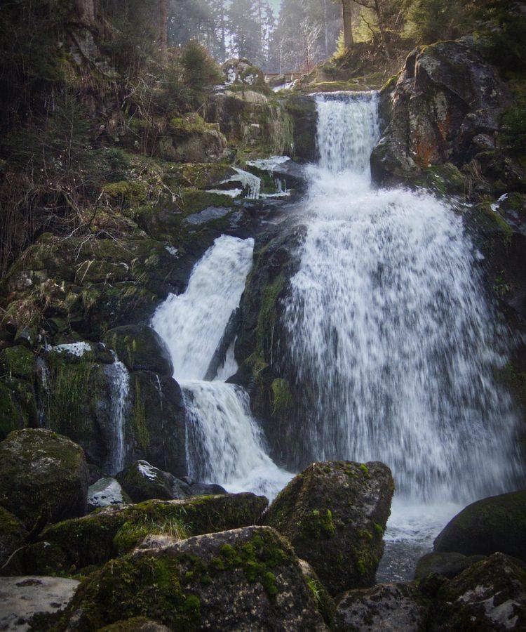 triberg, waterfall, black forest